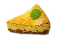 黒糖のチーズケーキ